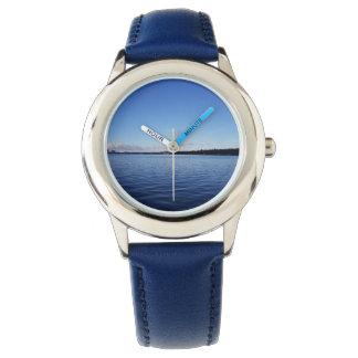 Ozean-Blau-Uhr Uhr