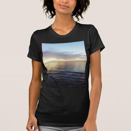 Ozean-Dämmerung T-Shirt