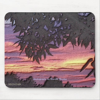 Ozean der Farbe Mousepad