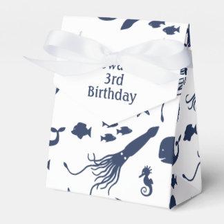 Ozean-Geburtstags-Bevorzugungs-Kasten mit Geschenkschachtel