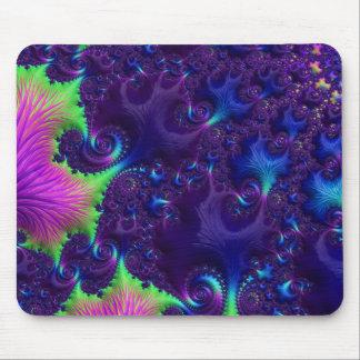 Ozean-Korallen-Fraktal Mousepad
