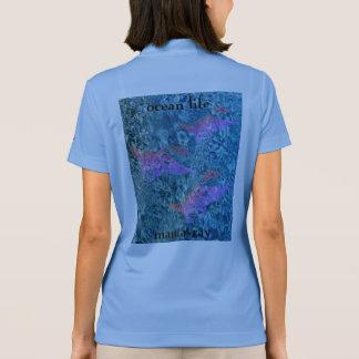 OZEAN-LEBEN-Mantarochen Polo Shirt