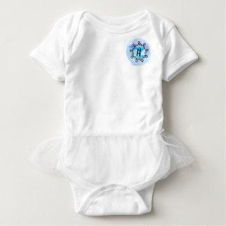 Ozean-Medaillon Baby Strampler