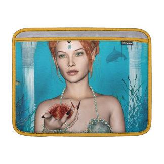 Ozean-Meerjungfrau MacBook Sleeve