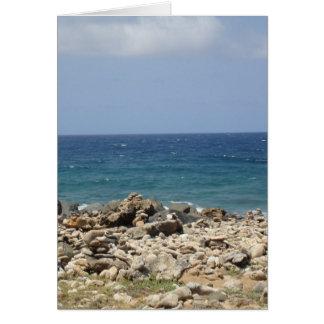 Ozean-Schönheit Mitteilungskarte