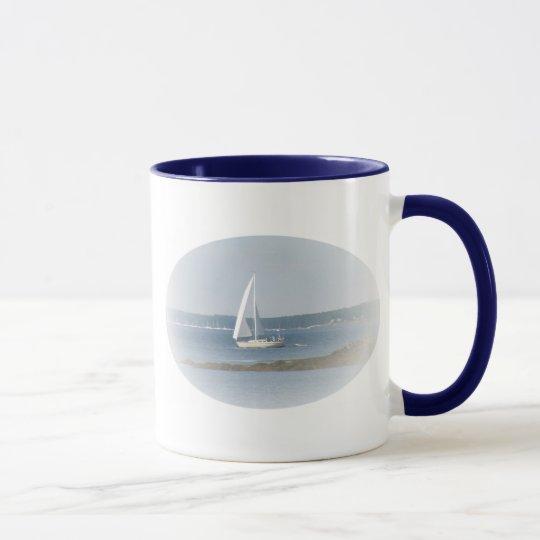 Ozean-Segel-Tasse Tasse