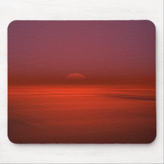Ozean-Sonnenaufgang-Mausunterlage Mousepad