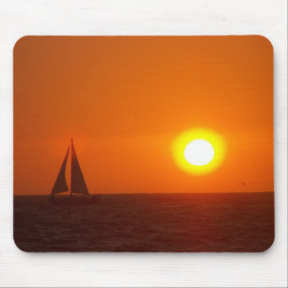 Ozean-Sonnenuntergang Mauspads