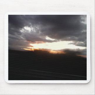 Ozean-Sonnenuntergang Mousepads