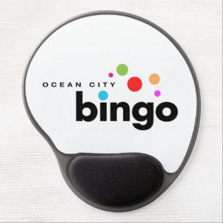 Ozean-Stadt-Bingo Mousepad Gel Mousepads