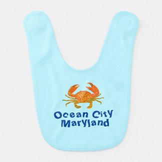 Ozean-Stadt-Krabbe Babylätzchen