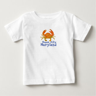 Ozean-Stadt Maryland Baby T-shirt