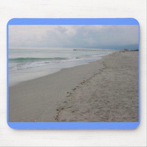Ozean-Strand Mauspads