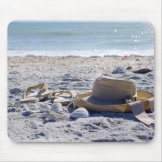 Ozean, Strand, Muscheln Mousepads