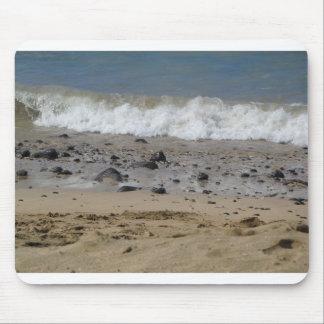 Ozean und Felsen Mauspads