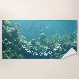 Ozean von Vitamin Meer! Badetuch