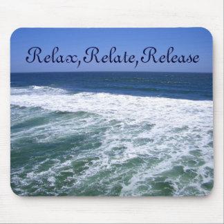 Ozean Waves_ Mauspads