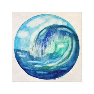 Ozean-Wellen-Leinwanddruck Leinwanddruck