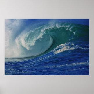 Ozean-Wellen-Plakat Poster