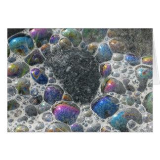 Ozeanblasen Grußkarte