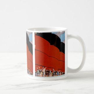 Ozeandampfer-gute Reise Kaffeetasse