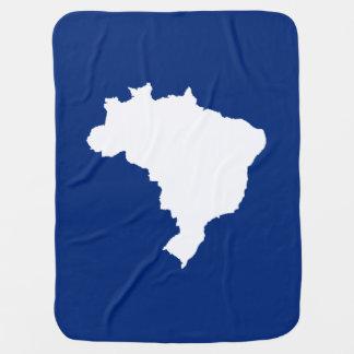 Ozeanisches blaues festliches Brasilien bei Babydecke