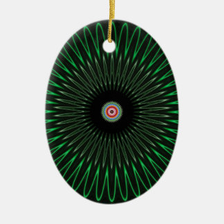 Ozeanraum Ovales Keramik Ornament