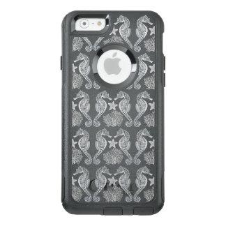 Ozeanstarfish-Seepferd korallenroter iPhone Fall OtterBox iPhone 6/6s Hülle