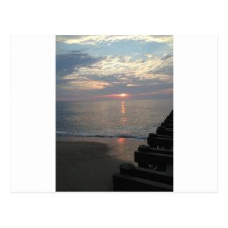 Ozeanufer Postkarte