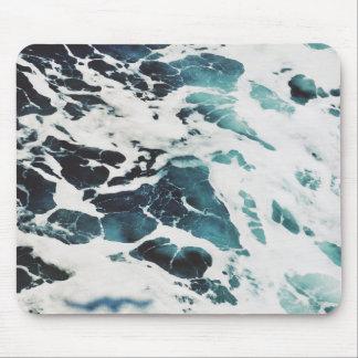 Ozeanwellen-Seeschönes blaues Wasser mousepad