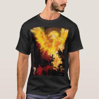 P ist für Phoenix-Entwurf T-Shirt