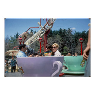 PA rocheuse de Moosic de parc d'attractions de Poster