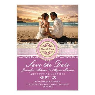 Paar-Strand-Liebe-Beziehungen 12,7 X 17,8 Cm Einladungskarte