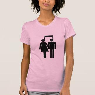 Paare im Harmonie-Shirt T-Shirt