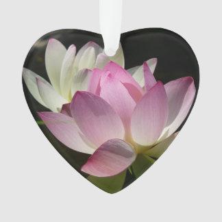 Paare Lotos-Blumen II Ornament