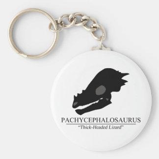 Pachycephalosaurus Schädel Schlüsselanhänger