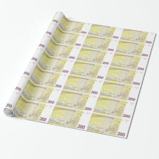 Packpapier des Euro-200