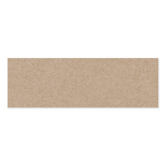 Packpapier-Hintergrund Browns Gedruckt Visitenkarten Vorlage