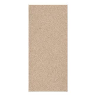 Packpapier-Hintergrund Browns Gedruckt Werbekarte