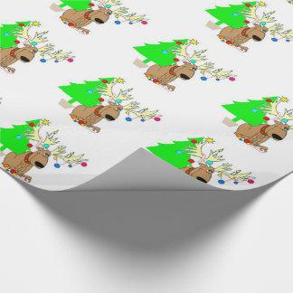 Packpapier-/Ren-u. Weihnachtsbaum Geschenkpapier