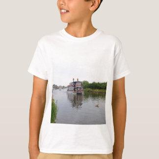 Paddel-Dampfer-südlicher Komfort T-Shirt