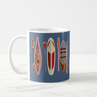 Paddel-Leidenschaft Kaffeetasse
