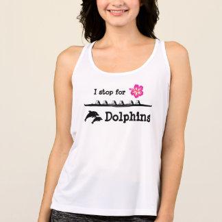 Paddel mit Delphinen Tank Top