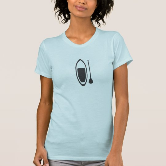 Paddelbrett-stück T-Shirt