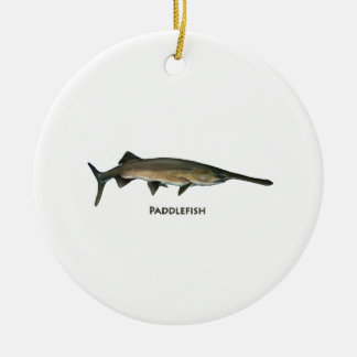 Paddlefish Keramik Ornament