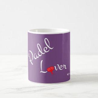 PadelLover zerteilt Kaffeetasse