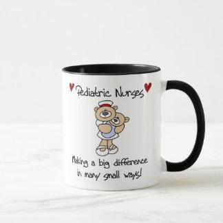 Pädiatrische Krankenschwester-Tasse Tasse