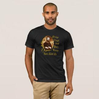Padre Pio T - Shirt-Heilig-T - Shirt-Katholischer T-Shirt