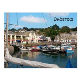 Padstow Cornwall England Postkarte