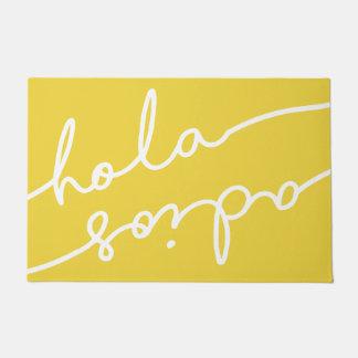Paillasson Typographie espagnole d'Adios de Hola -